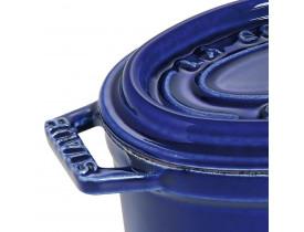 Caçarola Oval em Cerâmica Azul Marinho Ø11cm - Staub