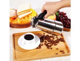 Cafeteira de Aço Inox para 4 Cafézinhos - Mimo Style