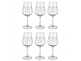 Conjunto 6x Taças London para Vinho Tinto 390ml Crystal - Oxford