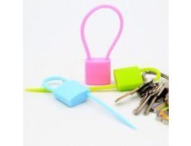 Conjunto de 3x Lacres Fecha Sacos/Embalagem Cadeado - MR Gifts