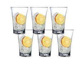Conjunto de 6x Copos Truva Long Drink 350ml - Mimo Style