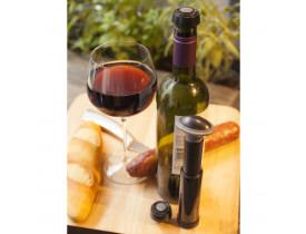 Conjunto de Bomba Vácuo para Vinhos com 2 Tampas - Prana