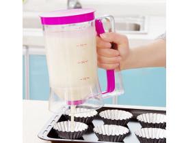 Dosador de Massas para Panquecas, Cupcakes, Chocolates - Prana
