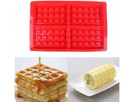 Forma para Waffle e Panquecas em Silicone - Mimo Style
