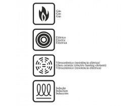 Frigideira com Revestimento Interno de Antiaderente Ø30cm - Tramontina