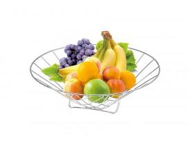 Fruteira Cromada de Mesa 30X11cm - Stolf