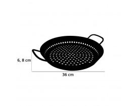Grelha Furada para Churrasco de Vegetais em Alumínio Ø30cm - Tramontina
