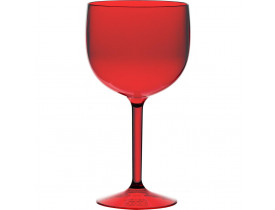 Jogo 2x Taças para Gin Vermelha em Acrílico 560ml - Boccati
