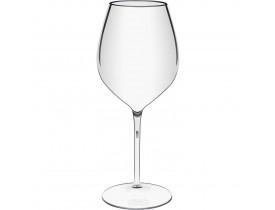 Jogo 2x Taças de Vinho Transparente em Acrílico 580ml - Boccati