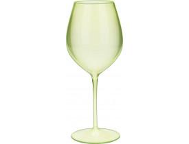 Jogo 2x Taças de Vinho Verde Cristal em Acrílico 580ml - Boccati