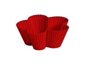 Jogo de Forminhas para Muffins Flor 6 Peças - Mimo Style
