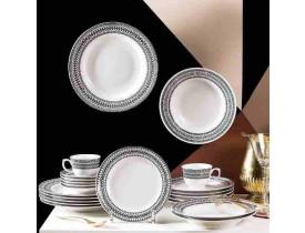 Conjunto de Jantar 42 Peças Flamingo Sense - Oxford