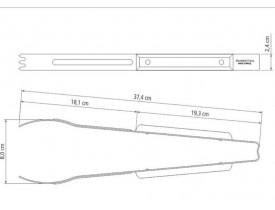 Pegador de Carne para Churrasco 38cm - Tramontina