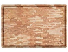 Tábua Multiuso Madeira Invertida Teca 44X29,5cm - Stolf