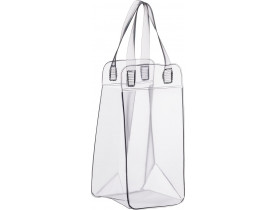 Bolsa PVC Transparente para Gelo e 1 Garrafa - Boccati