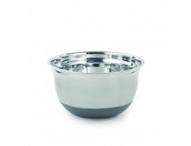 Bowl de Inox com Base em Silicone ø17cm - Mimo Style