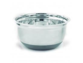 Bowl de Inox com Base em Silicone ø25cm - Mimo Style