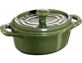 Caçarola Oval em Cerâmica Verde Brasil Ø11cm - Staub