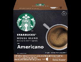 Café em Cápsula Dolce Gusto House Blend Americano - Starbucks