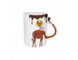 Caneca Joy 300ml Girafa - Oxford