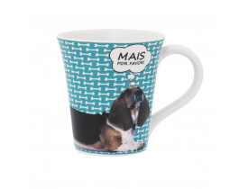 Caneca Tulipa 330ml Basset Arround - Oxford