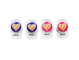 Clip Magnético 4 Peças Coração - Brinox