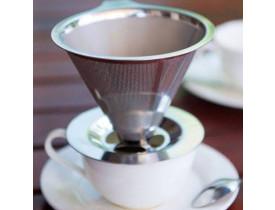 Coador e Filtro de Café em Inox Grande - Mimo Style