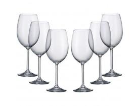 Conjunto 6x Taças de Vinho Bordeaux 640ml Barbara - Bohemia