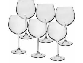 Conjunto 6x Taças de Vinho Burgund 570ml Colibri - Bohemia