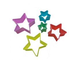 Cortador de Biscoitos Estrela 5 peças - Prana