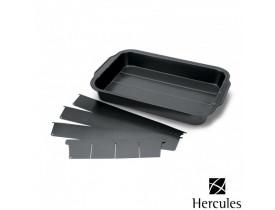 Forma Antiaderente com Divisória Ajustável 37,5x25x5cm - Hercules