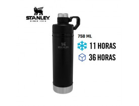 Garrafa Térmica Classic Inox Black 750ml - Stanley
