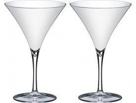 Jogo 2x Taças para Martini 290ml em Acrílico - Boccati
