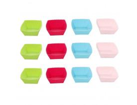 Jogo de Forminhas Redondas para Muffins 12pçs 7cm - Mimo Style