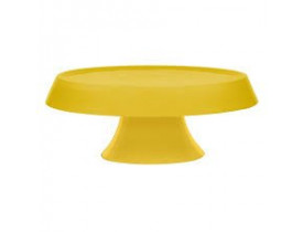 Prato para Bolo Tower com Pedestal Yellow Ø27cm - Oxford