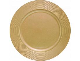 Sousplat Dourado Ø33cm - Mimo Style