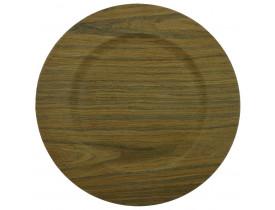 Sousplat Light Wood Ø33cm - Mimo Style